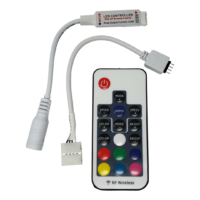 RGB RF Controller with remote