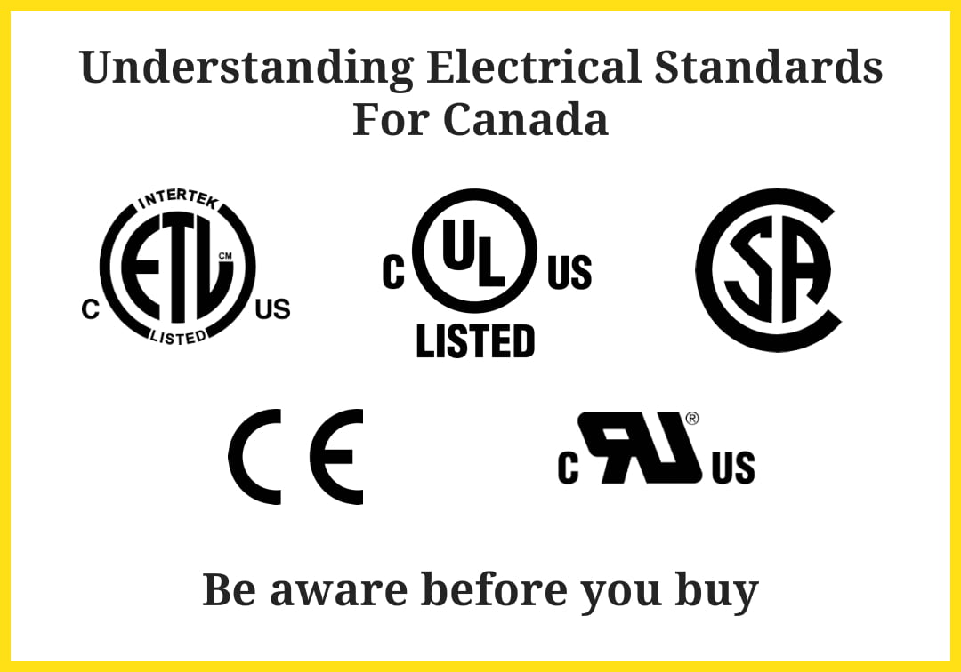Canadian Electrical Standards
