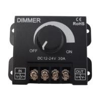 Rotery Dimmer with 30 amp capacity