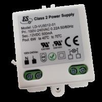 6W, 12V DC Power Supply