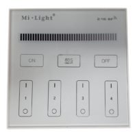 4 Zone Wall Dimmer
