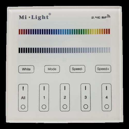 4 Zone RGB wireless Wall Controller
