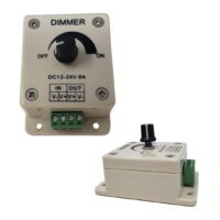 12-24V DC manual LED dimmer