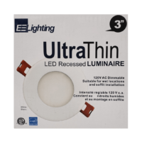 "UltraThin 3"" Pot Light"