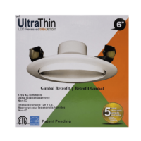 6 Inch Ultra Thin Gimbal Retrofit