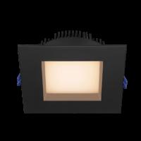 Square 6 inch Regressed LED