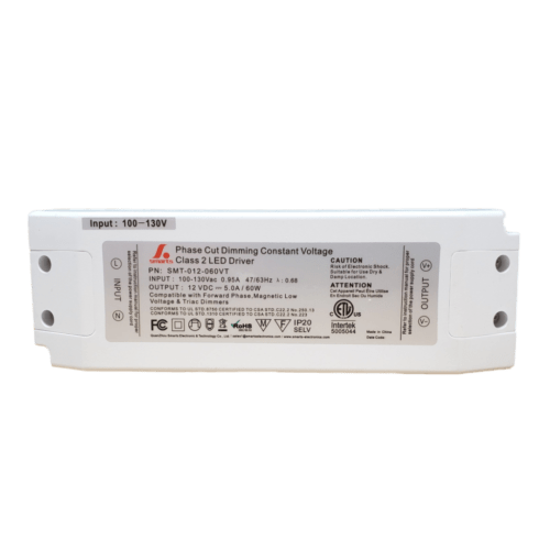60W, 12V DC Dimmable LED Driver