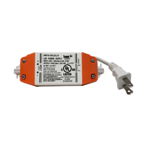 15W, 12V DC Non Dimmable LED Driver