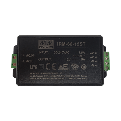 60W 12V DC IRM Meanwell Driver