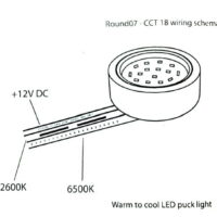 CCT LED Cabinet Puck